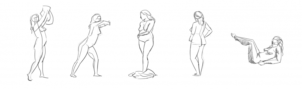 Thumbnail for figure drawing practice